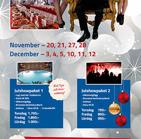 Schlagerfeber Ronneby Brunn julshow roll-up