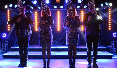 Schlagerfeber Ronneby Brunn julshow med mask
