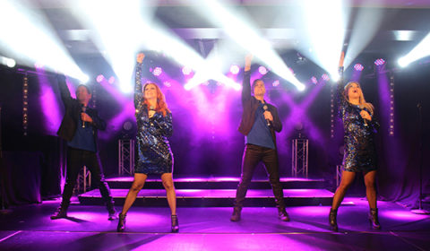 Schlagerfeber Ronneby Brunn julshow gruppbild